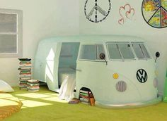 A perfect shaggin-wagon! Own this for spare room!