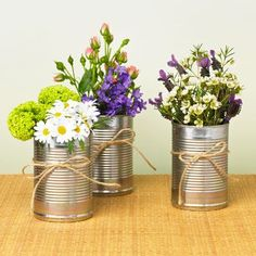 How to recycle and reuse your favourite wedding gear Give floral table centres…