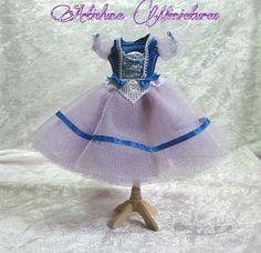 RESERVED FOR NORA Ballet dress Giselle  by ArtislunaMiniaturas, €30.00