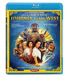 Zhang Wen & Stephen Chow - Journey to the West Blu Ray Movies, New Movies, Magnolia Movie, Shaolin Soccer, Stephen Chow, Show Luo, Kung Fu Hustle, Buddhist Beliefs, Magnolia Pictures