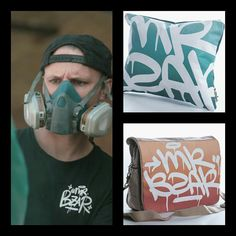 Graffitiville is a passion project founded by two ladies who love colour, art, beautiful things, creativity as well as the distinctiveness embodied in graffiti art. Drake Artist, Graffiti Tagging, Two Ladies, Handmade Cushions, Graffiti Artists, Meet The Artist, Scatter Cushions, Laptop Bag, Original Art