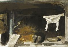 Andrew Wyeth. Акварели  Найдено: http://tanjand.livejournal.com/1467185.html