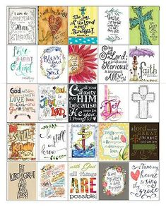 planner printables 05 calvary couponers and crafters Printable Bible Verses, Scripture Cards, Bible Art, Bible Quotes, Printable Planner Stickers, Free Printables, Planner Organization, Happy Planner, Free Planner