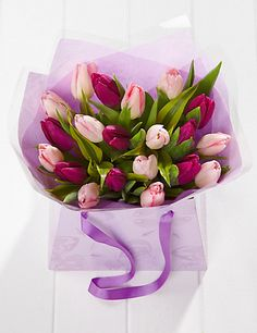 Mother's Day Tulip Gift Bag | M&S