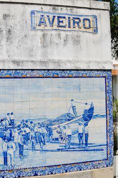 Aveiro Train Station (Central Portugal) (9)  by Gail Edwin Aguiar