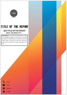 How To Create A Title Page In Word : create, title, Create, Cover