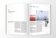 SEJLER MAGAZINE by Signe Marie Dahm, via Behance