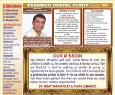 Uday Tamhankar, dentistry specialist who gives complete oral health services.  http://www.drudaytamhankar.in