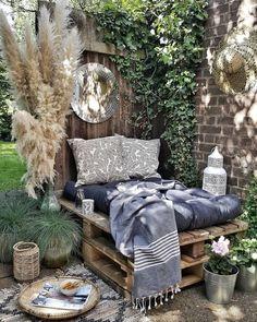 Outdoor Rooms, Outdoor Living, Outdoor Decor, Outdoor Pallet, Patio Design, House Design, Backyard Patio, Pergola, Home Decor