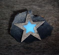 Winter Solstice glowing Star ornament by EarthlyCreature on Etsy