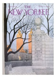 The New Yorker Cover - November 15, 1976