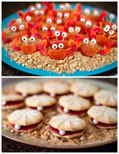 Love these little candy crabs