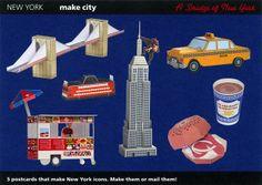 Make City, New York, Display Card - Cut Out Postcard | Flickr - Photo Sharing!