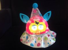 """Special Outfit for Furby or New Furby Boom Handmade Clothes """"Happy Birthday"""" 