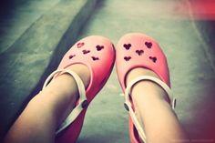 mickey crocs