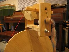 homemade spinning wheel #1