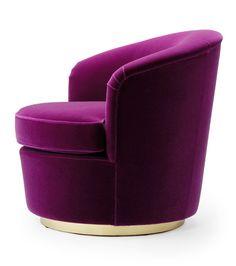 Floradora Swivel Chair - Amy Somerville