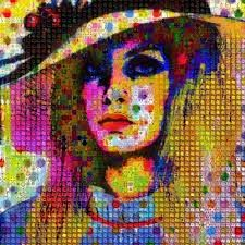 Image result for modern art twiggy