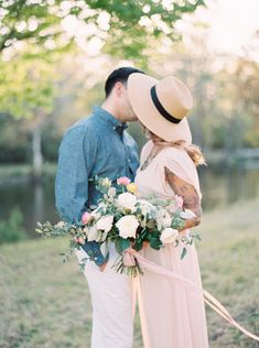 Spring Riverside Engagement Session   Wedding Sparrow   J Layne Photography