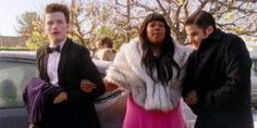 "Klaine | ""I need my arm gays"" -Mercedes to Kurt & Blaine"