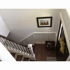 click through for a before photo. Keep Home Simple: Our Split Level Fixer Upper