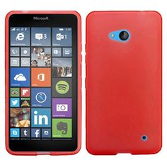 Insten Frosted TPU Rubber Candy Skin Phone Case Cover For Microsoft Lumia 640 #2101439