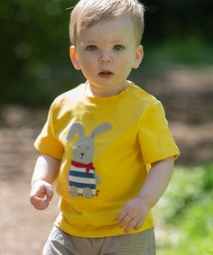 Another great find on #zulily! Yellow Rabbit Organic Tee - Infant & Toddler by Kite #zulilyfinds