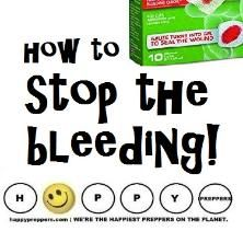 How to stop the bleeding when there is no doctor Emergency First Aid, Emergency Preparation, Emergency Care, Emergency Preparedness Kit, Survival Prepping, Survival Stuff, Best Gas Mileage, Urban Survival, See On Tv