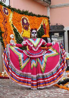 El dia de los muertos au mexique la f te des morts galeries d 39 images voyages v2 canoe - Maquillage fete des morts ...