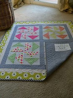 Quilt for baby