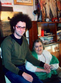 Alda MERINI con Simone Cristicchi.