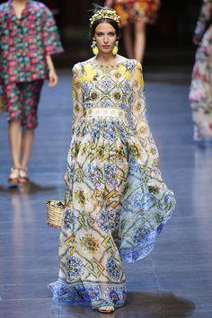 Dolce & Gabbana Milán primavera-verano 2016