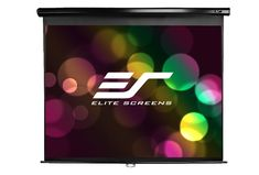 Manual series of projector screens at Elite screens