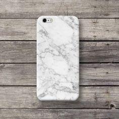 White Marble Granite iPhone 4 5 5S 5C 6 Plus case - michaelcase - Etui na telefon