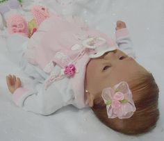 Bebê Reborn Maria Clara By Vandréia Silvestre.