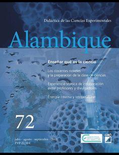 ALAMBIQUE : DIDÁCTICA DE LAS CIENCIAS EXPERIMENTALES