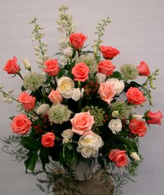 Do you search for Wedding Flower Bouquet Coral Wedding Flowers, Flower Bouquet Wedding, Wedding Centerpieces, Flower Centerpieces, Church Flowers, Wedding Catering, Calla Lily, Flower Delivery, Floral Arrangements
