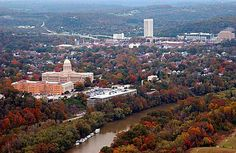 Aerial View, Frankfort, Ky