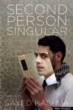 'Second Person Singular' by Sayed Kashua. Cover design by Stan Grinapol. Image courtesy www.huffingtonpost.com.