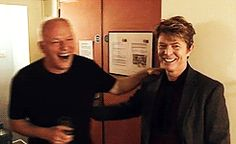David Gilmour & David Bowie
