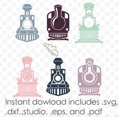 Train svg monogram frame instant download zipped by designaroos