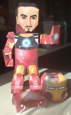 My Paper Heroes: The Invincible IronMan