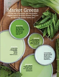 Market Greens Paint Colors