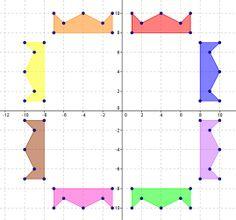 Geometry Worksheet -- Two-Step Transformations | Teaching Ideas ...