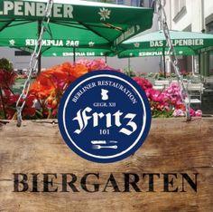 Fritz 101 Restauration, Friedrichstraße 101, 10117 Berlin, phone +49 (0)30 30645498-0, Lunch: 11.30am – 4pm (8,50 Euro), with 0,2 l mineralwater (9,50 Euro), Choose between two menus. Restaurant Kritik: 3,25 von 5