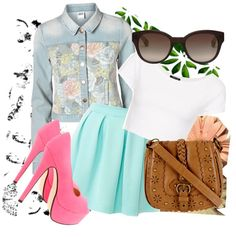 """""""Outfit for Spring #7."""" by apurplecandy ❤ liked on Polyvore"""