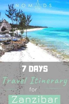 Travel Zanzibar with this practical guide, with a suggested 7 day itinerary to explore the best beaches of the island.  #zanzibar #africa #thingstodo #guide #hotels #beaches