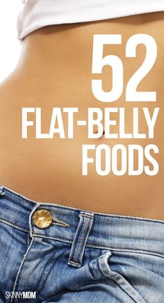 Tighten your tummy with these healthy foods.