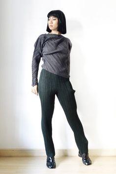 Issey Miyake Slim Fit Trousers Sz S