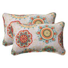 Pillow Perfect Outdoor Fairington Corded Aqua Rectangular Throw Pillow (Set of - Overstock™ Shopping - Big Discounts on Pillow Perfect Outdoor Cushions & Pillows Outdoor Cushions And Pillows, Buy Pillows, Floor Pillows, Decorative Throw Pillows, Throw Pillow Sets, Lumbar Pillow, Cushion Pillow, Pillow Reviews, Retro Floral